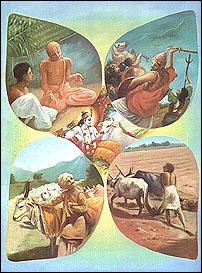 Первые сведения о кастовой системе в Индии