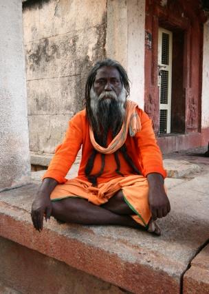 Индийский монах