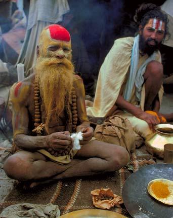 Индийские жрецы